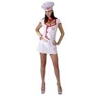 """Карнавальный костюм для взрослых """"Любовь шеф-повара"""",3 пр: платье, шляпа, шарф, р-р M-L 44-48"""