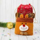 """Подарочная упаковка """"Олененок"""" с бабочкой, вместимость 500 грамм"""