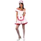 """Карнавальный костюм """"Медсестра"""", 4 предмета: платье, головной убор, пояс, подъюбник, р-р 44-48 (M-L)"""