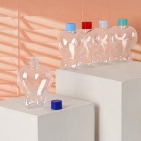 Бутылочка для хранения 'Сердце', 150мл, цвета МИКС Ош