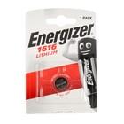 Батарейка Литиевая  Energizer, CR1616-1BL, блистер, 1 шт.