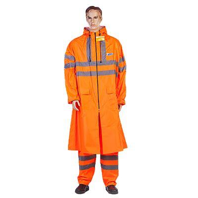 Плащ влагозащитный ExtraVision WPL, размер 44-46, рост 170-176 см, цвет оранжевый