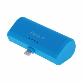 Внешний аккумулятор (power bank) SmartBuy TURBO-8, 2,1 А, 2200 mAh, 8pin, синий Ош