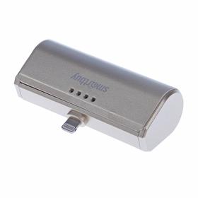 Внешний аккумулятор (power bank) SmartBuy TURBO-8, 2,1 А, 2200 mAh, 8pin, золотой Ош