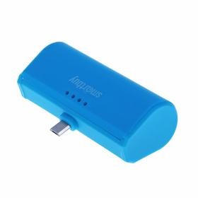 Внешний аккумулятор (power bank) SmartBuy TURBO, 2,1 А, 2200 mAh, MicroUSB, синий Ош