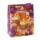 """Пакет подарочный """"Праздничное настроение"""", 14,5 х 11,5 х 6,5 см"""