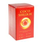 Уголь для кальяна Sheikh кокосовый, 112 кубиков