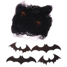 """Набор для оформления Хеллоуина «Замок Дракулы"""", 5 предмета, 15 х 15 см"""