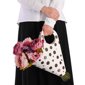 Пакет для цветов «Самой нежной» 30 х 32 см