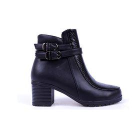 Ботинки женские SANDWAY арт. B7600-1 (черный) (р. 37)   УЦЕНКА