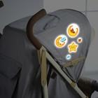 Наклейки светоотражающие на коляску «Спит малыш» (набор)
