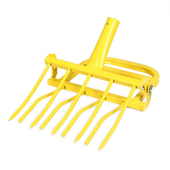 Рыхлитель «Землекоп-5», ширина копки 42 см, 5 зубцов, тулейка 40 мм, без черенка 335107