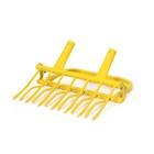 Рыхлитель садово-огородный, ширина копки 55 см, 7 зубцов, 2 ручки, тулейка 40 мм, без черенка, «Суперземлекоп-7»