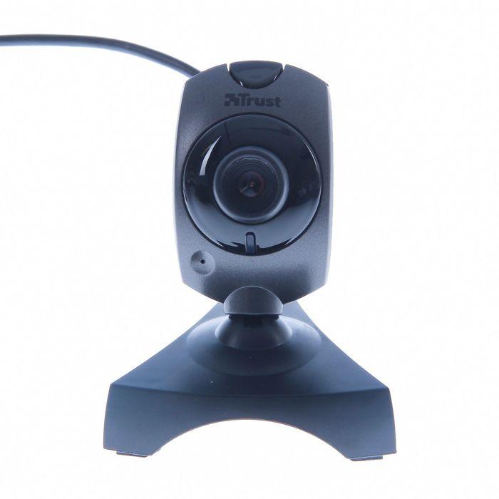 Веб-камера Trust Primo (17405) Webcam, 0.3 МП, 640x480, черная