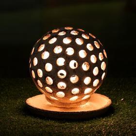 Садовый светильник 'Шар' шамот Ош