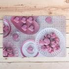 "Салфетка кухонная ""Розовый десерт"" 42х27 см"