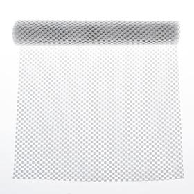 """Коврик противоскользящий """"Сетка"""" 30x100 см, цвет белый"""