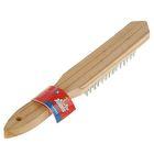 Щетка проволочная Top Tools, 5 рядов проволоки, деревянная рукоятка
