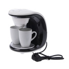 Кофеварка FIRST FA-5453-2WB, 450 Вт, 2 чашки, белый-черный