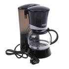 Кофеварка ZIMBER ZM-10687, 700 Вт, 0.6 л, черный, белый