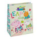 "Пакет подарочный ""Весна Пеппы"", 23 х 18 х 10 см, Peppa Pig"