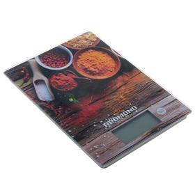 Весы кухонные REDMOND RS-736, электронные, 8 кг, специи Ош