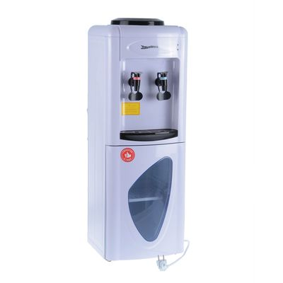 Кулер для воды AquaWork AW 0.7LD, с охлаждением, 700 Вт, белый