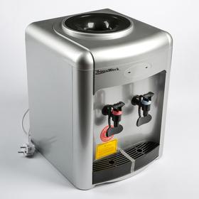 Кулер для воды AquaWork AW 36TKN, только нагрев, 700 Вт, серебристый Ош