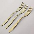 """Набор вилок столовых 19 см """"Классика"""", 3 шт, толщина 2 мм, анодированные, цвет желтый"""