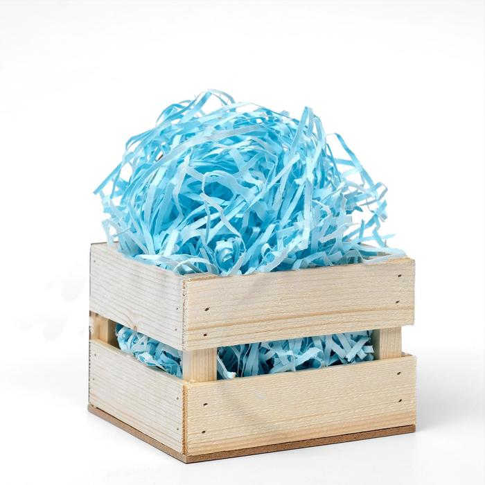 Наполнитель бумажный голубой, 50 г