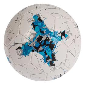Мяч футбольный р.5, 32 панели, маш.сшивка 260 гр, цвет бело-синий