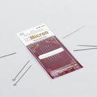 Иглы швейные для бисера, №10, KSM-503, 6шт
