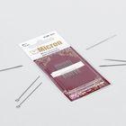 Иглы швейные для пэчворка, №11, KSM-403, 12шт