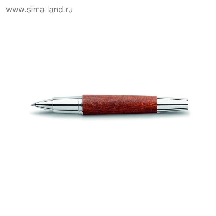 Ручка подарочная роллер Faber-Castell E-Motion Birnbaum св-корич груша, черн, под/к 148205