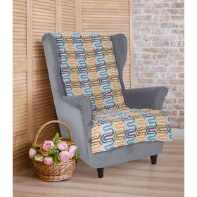 Накидка на кресло 'Этель' Серпантин 70х160 ± 2 см Ош