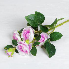 """Цветы искусственные """"Купавки"""" 6*58 см, фиолетовая"""