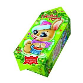 Подарочная коробка 'Зайка', конфета малая, сборная, 9 х 5.8 х 12.8 см Ош