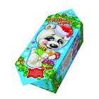 """Подарочная коробка """"Мишка белый"""", конфета малая, сборная, 9 х 5.8 х 12.8 см"""
