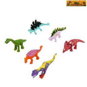 """НАБОР ЖИВОТНЫХ Набор животных """" Цветные Динозавры"""", 6 предметов"""