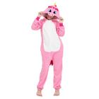 "Комбинезон-кигуруми детский ""Розовый единорог"", рост 116 см"