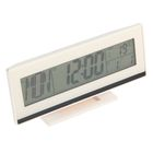 Часы-будильник  LuazON LB-09, подсветка срабатывает от хлопка, белый