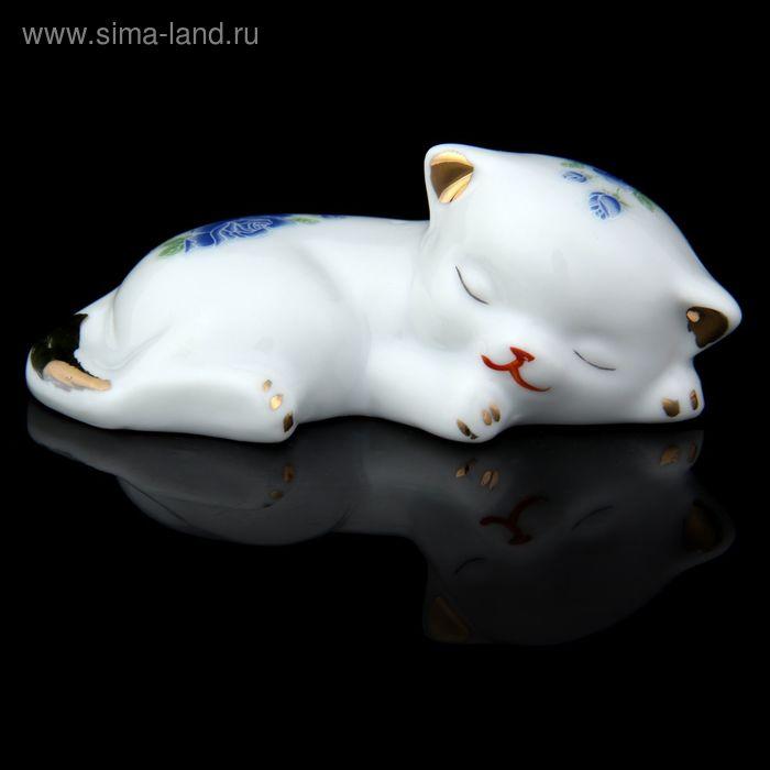 """Сувенир """"Спящий котёнок"""""""