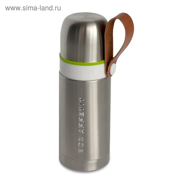 Термос Thermo-Flask 350 мл сталь-лайм