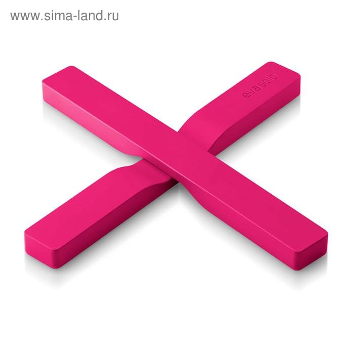 Подставка под горячее магнитная Magnetic trivet розовая
