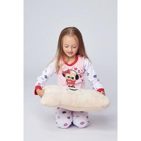 Пижама для девочки, рост 98 см, цвет микс 71