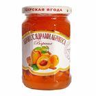 Варенье из абрикосов с ядрами абрикоса по-домашнему 360г (Царская ягода)