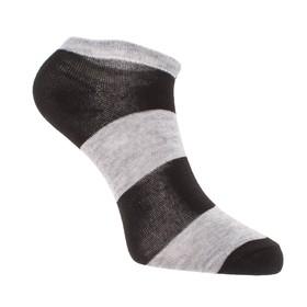 Носки женские укороченные 383 цвет МИКС, р-р 23-25 (р-р обуви 36-39)