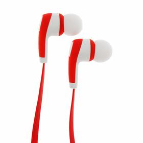 Беспроводная стерео гарнитура Smarterra BTHS-1, Bluetooth, красный
