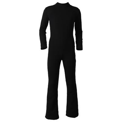 Комбинезон для фигурного катания, низ брюки, термобифлекс цвет черный (р.40)