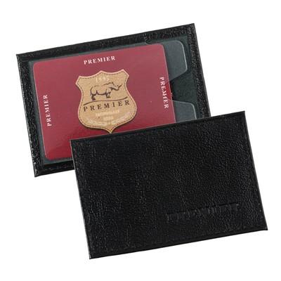 Футляр для карточек, цвет чёрный